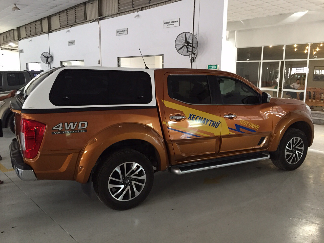 Karuna canopies for New Nissan Navara NP300 exclusively distributed by Nissan Vietnam for Vietnam Market & Karuna