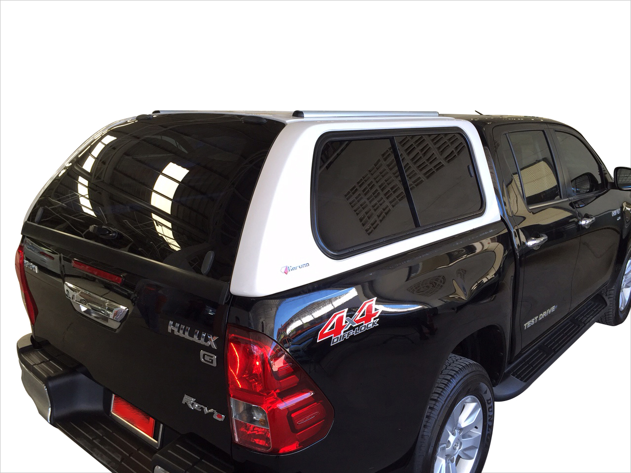 Side sliding windows canopy Hilux Revo Double cab 2016  sc 1 st  Karuna & Karuna